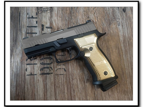 RESERVATION: Armory Craft - P320 AXG BRASS GRIPS