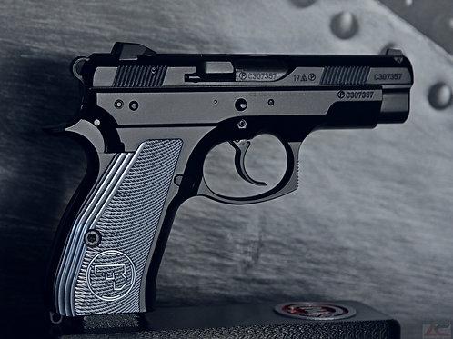 CZ 75 Aluminum Grips - COMPACT - TITANIUM