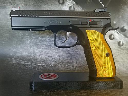 CZ 75 Aluminum Grips - Shadow 2 - LONG - Yellow