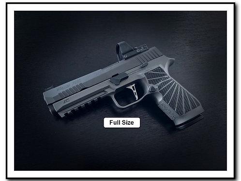 Wilson Combat P320 Grip Modules - Tungsten Gray + Laser Texture