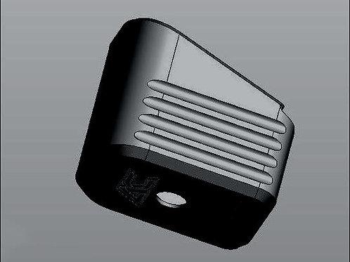 BLACK - Armory Craft - Plus-4 (Plus-5) Magazine Pad