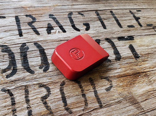 CZ 75 Base Pad - 'PLUS 1' - RED - for Magwell
