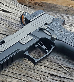 Armory Craft - CZ Grips - Sig X5 X6 Pistols - Flat Sig Sauer Triggers