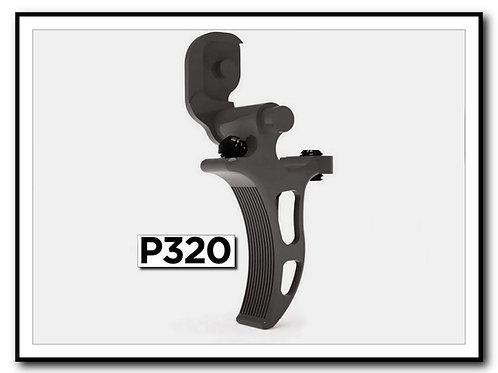SLIGHTLY CURVED Sig P320 / X5 / X5 Legion M17/M18 Dual Adjustable Trigger
