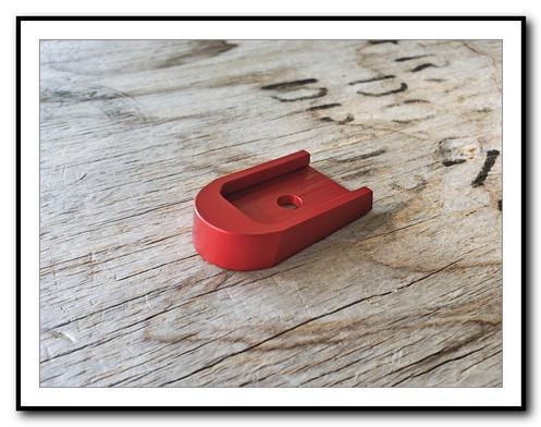 CZ 97 Aluminum Base Pad - RED