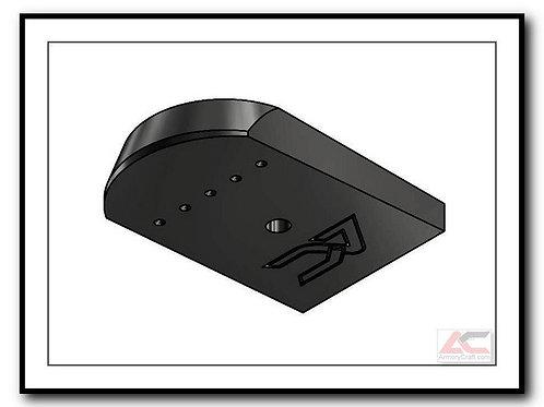 Armory Craft - CZ 97 Aluminum Base Pad - BLACK