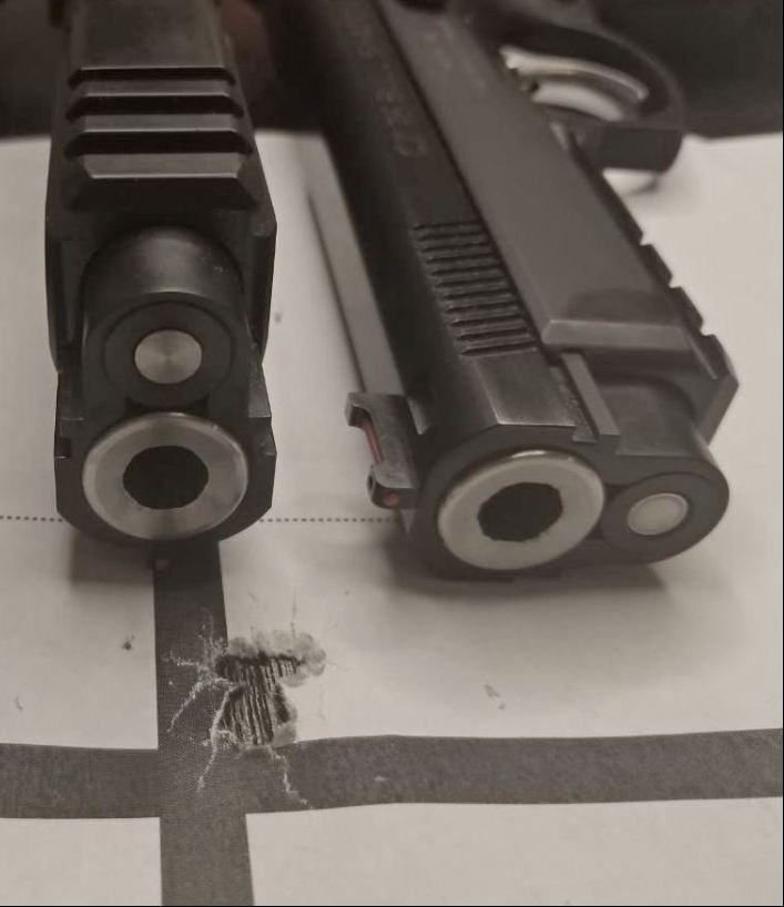 CZ Custom BULL SHADOW SP-01- 9 mm