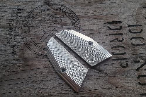 75 Aluminum Grips - SHORT- SILVER