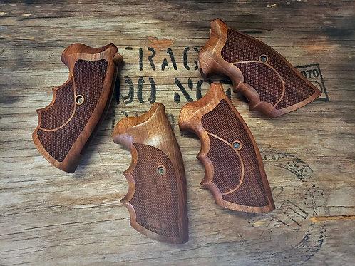 Colt Python & Officer Match Walnut Grips - Armory Craft