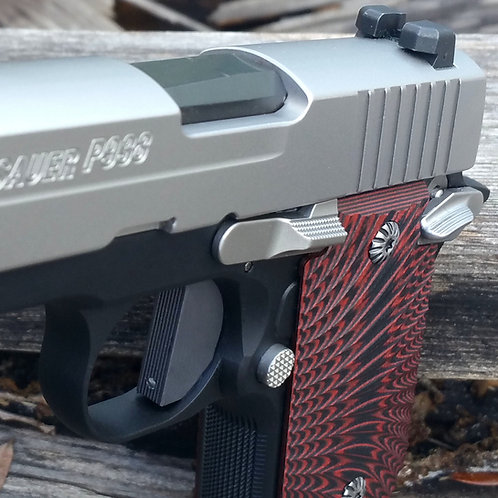 Sig Sauer P238 / P938, Colt Mustang, Kimber Micro 9 - Flat trigger - SOLID