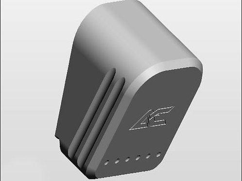 SILVER - Armory Craft - Plus-2 (Plus-3) Magazine Pad