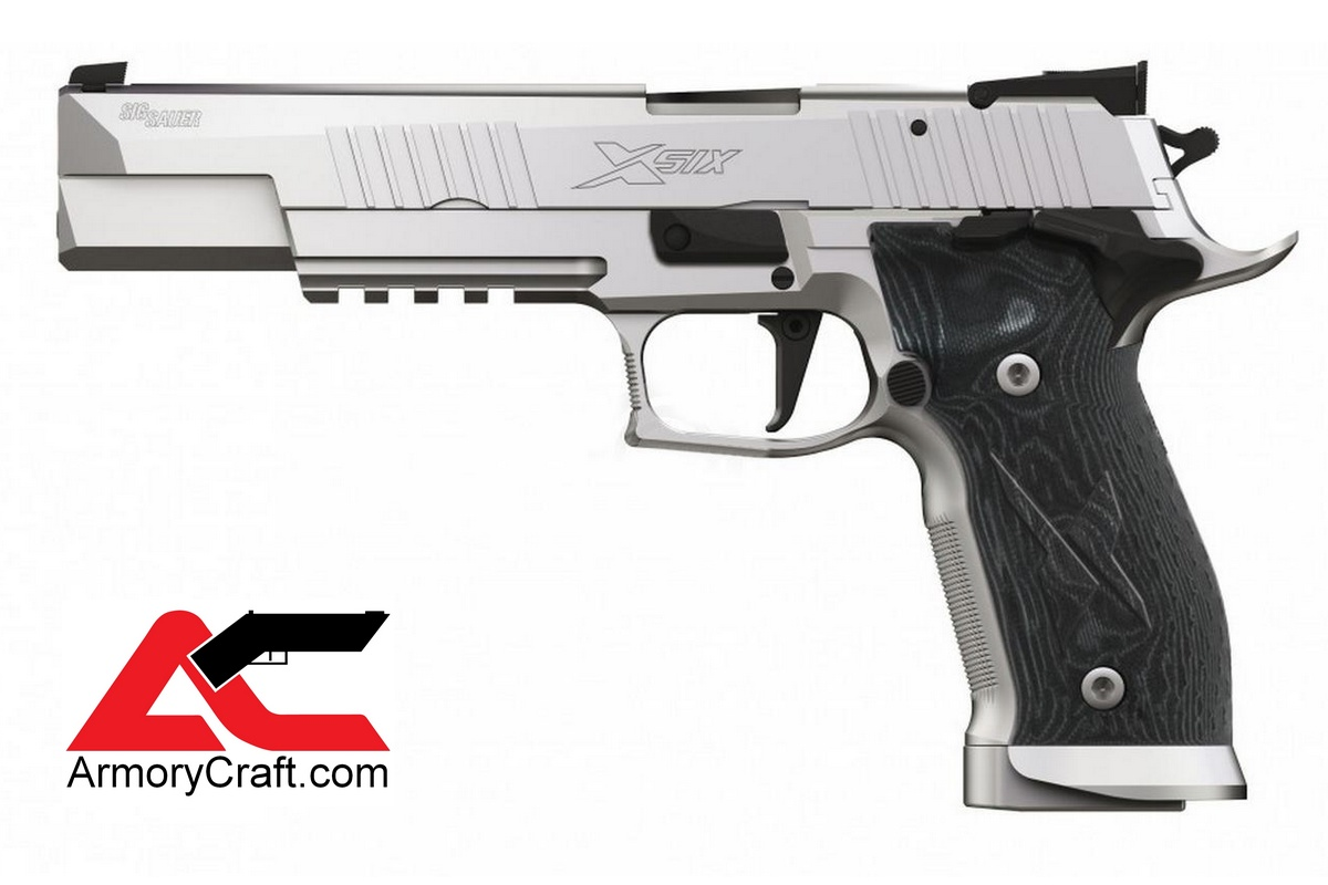Armory Craft - CZ Grips - Sig X5 X6 Pistols - Flat Sig Sauer Triggers