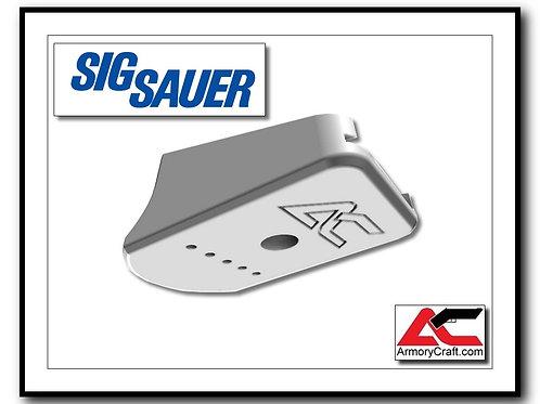 SIG P229 - Billet Aluminum Base Pad - SILVER