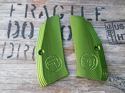 CZ 97 Aluminum Grips - 97 GREEN