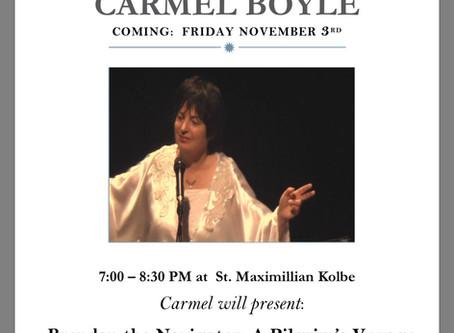LIVE from St. Maximilian Kolbe Parish in Marmora, NJ - A Night With Carmel Boyle