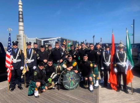 Irish Pipe Brigade at AOH Hall