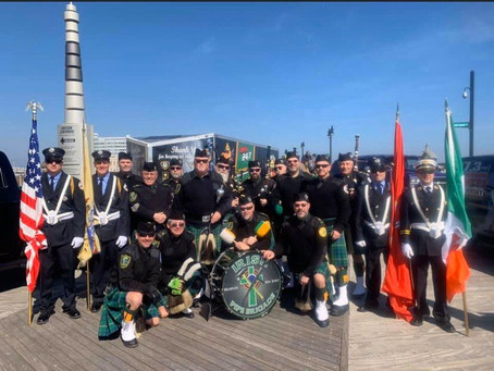 Irish Pipe Brigade at AOH Hall