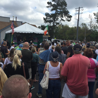 Gearing up for the Smithville Irish Festival!