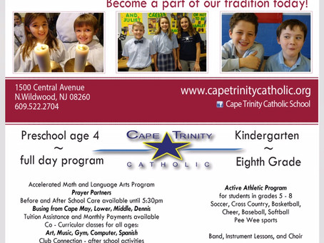 AOH, Cape May Co. Division #2 supports local Catholic education in Cape May County