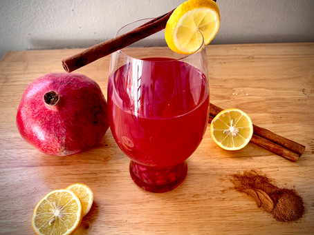Cranberry-Pomegranate Cider