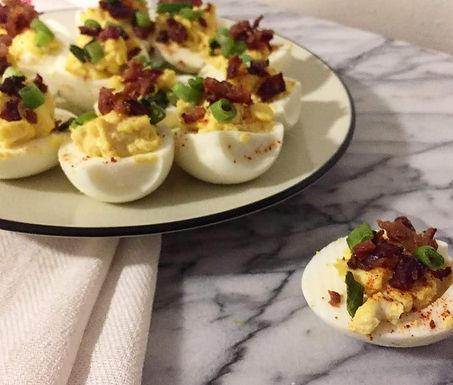Whipped Deviled Eggs