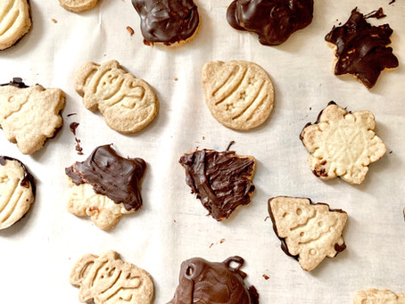 Vegan Shortbread Cookies