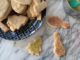 Sugar Cookies with Homemade Dye Free Sprinkles