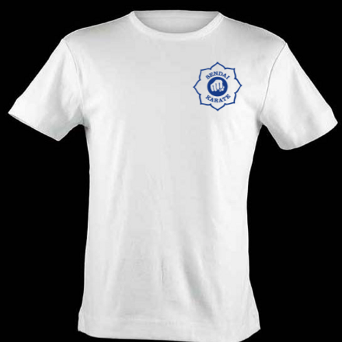 Plain white T-shirt with Sendai Logo