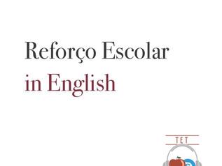 Reforço Escolar in English
