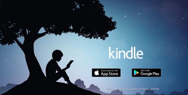 kindle app amazon aplicativo leitura dicionário dicas de inglês aulas particulares são josé dos campos são paulo the english teacher garoto lendo árvore