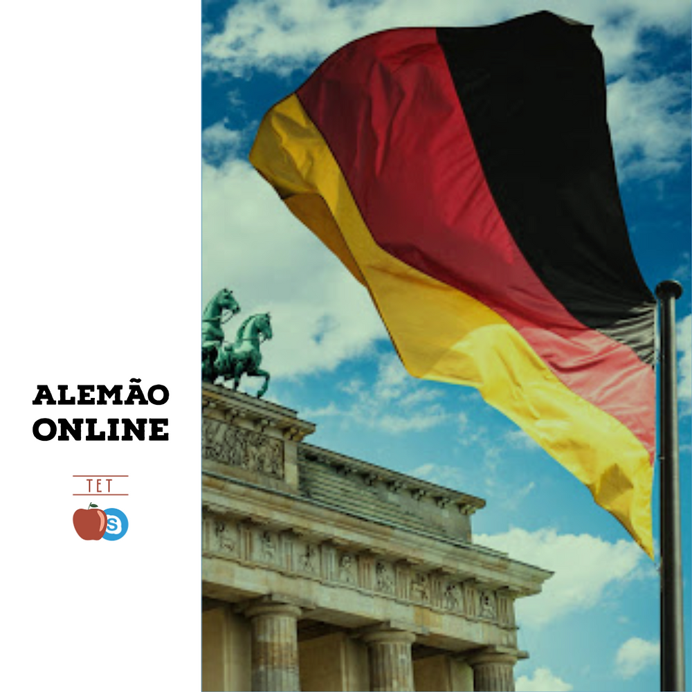 aulas particulares de alemão online skype professora professor bandeira german flag germany alemanha curso escola aula experimental gratuita