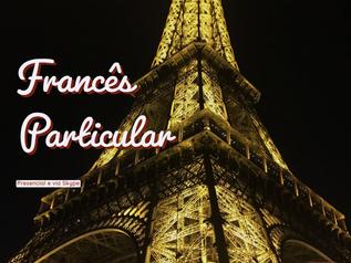 Francês Particular - Presencial e via Skype