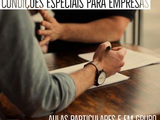 Condições Especiais para Empresas