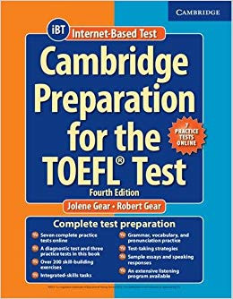 cambridge preparation for the toefl test preparatório exame proficiência toefl ibt itp