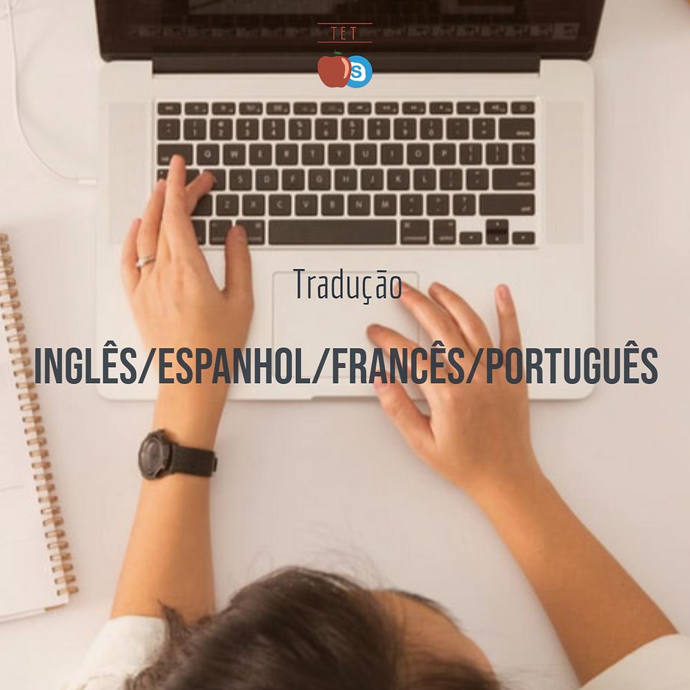 tradução translation inglês espanhol francês português serviço orçamento cotação