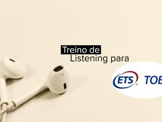 Treino de Listening para TOEFL iBT