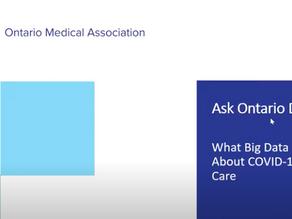 Ask Ontario Doctors: Big Data