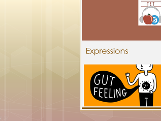 Expressions - GUT FEELING