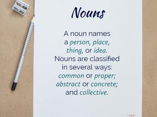 More on Nouns   Substantivos em Inglês
