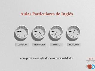 Aulas Particulares de Inglês com Teachers Estrangeiras
