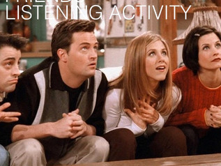 Friends Listening Activity - Expression: Pet Peeve