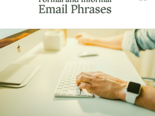 Formal and Informal Email Phrases – from Greetings to Closing Phrases