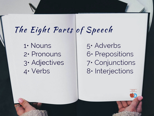 The Eight Parts of Speech, a Poem