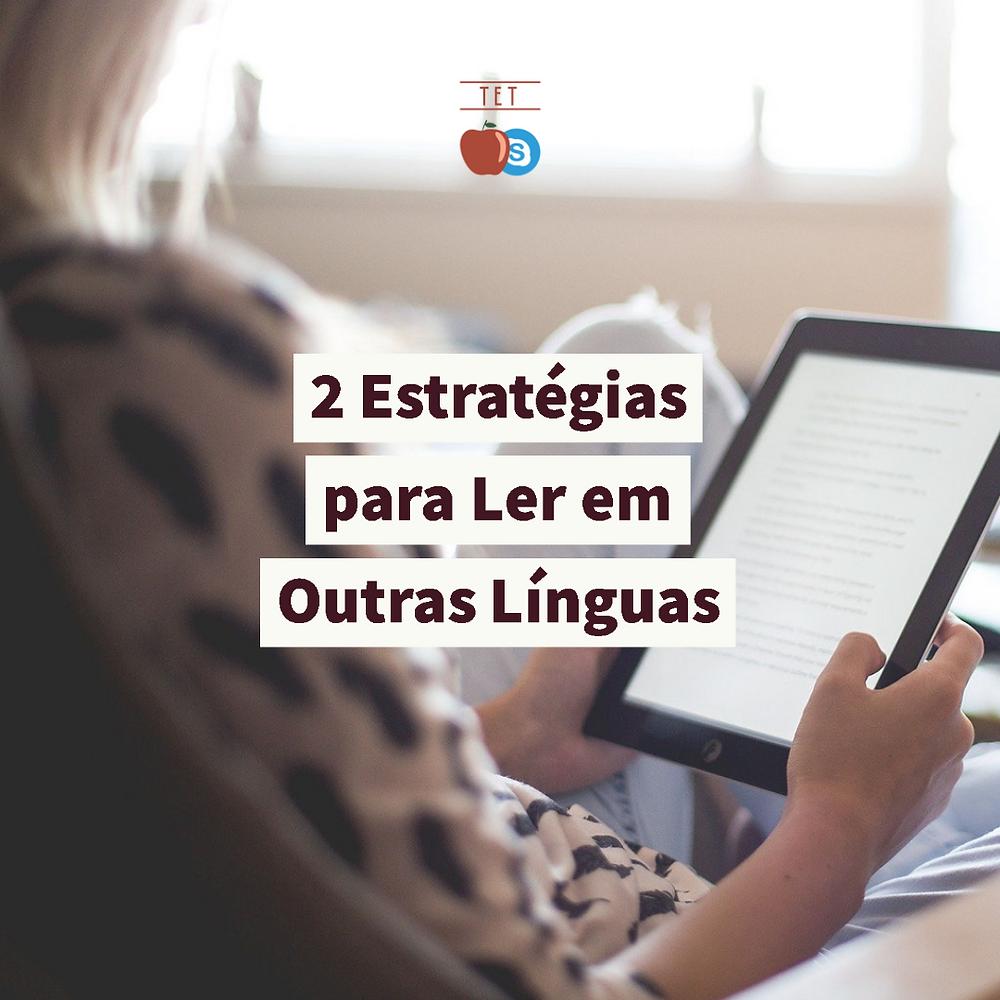 skmming scanning estratégia técnica leitura inglês espanhol alemão francês livro livros reading