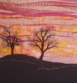 Sunset on the Moor