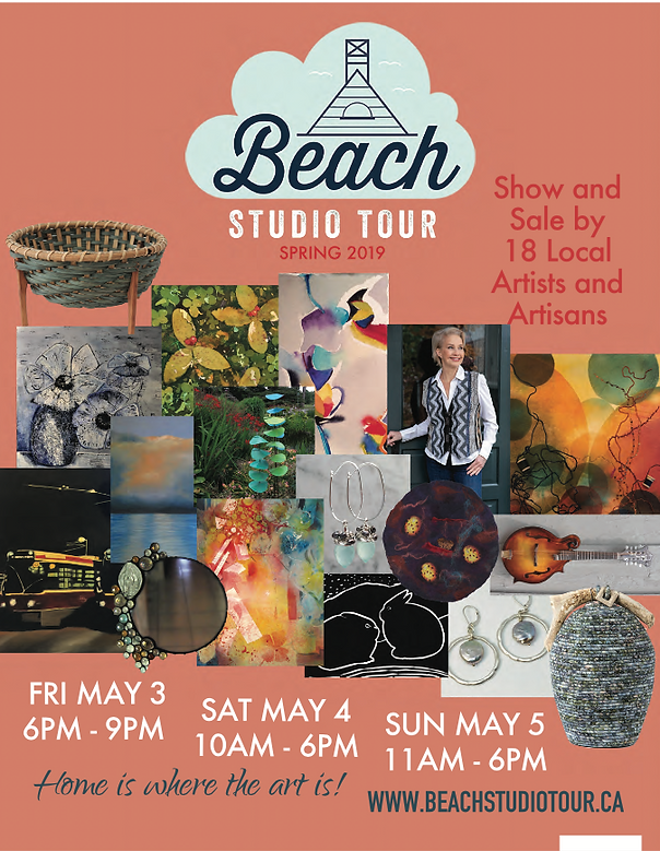 Beach Studio Tour for the EVENTS section