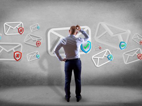 Opschonen van je mailbox op een presenteerblaadje