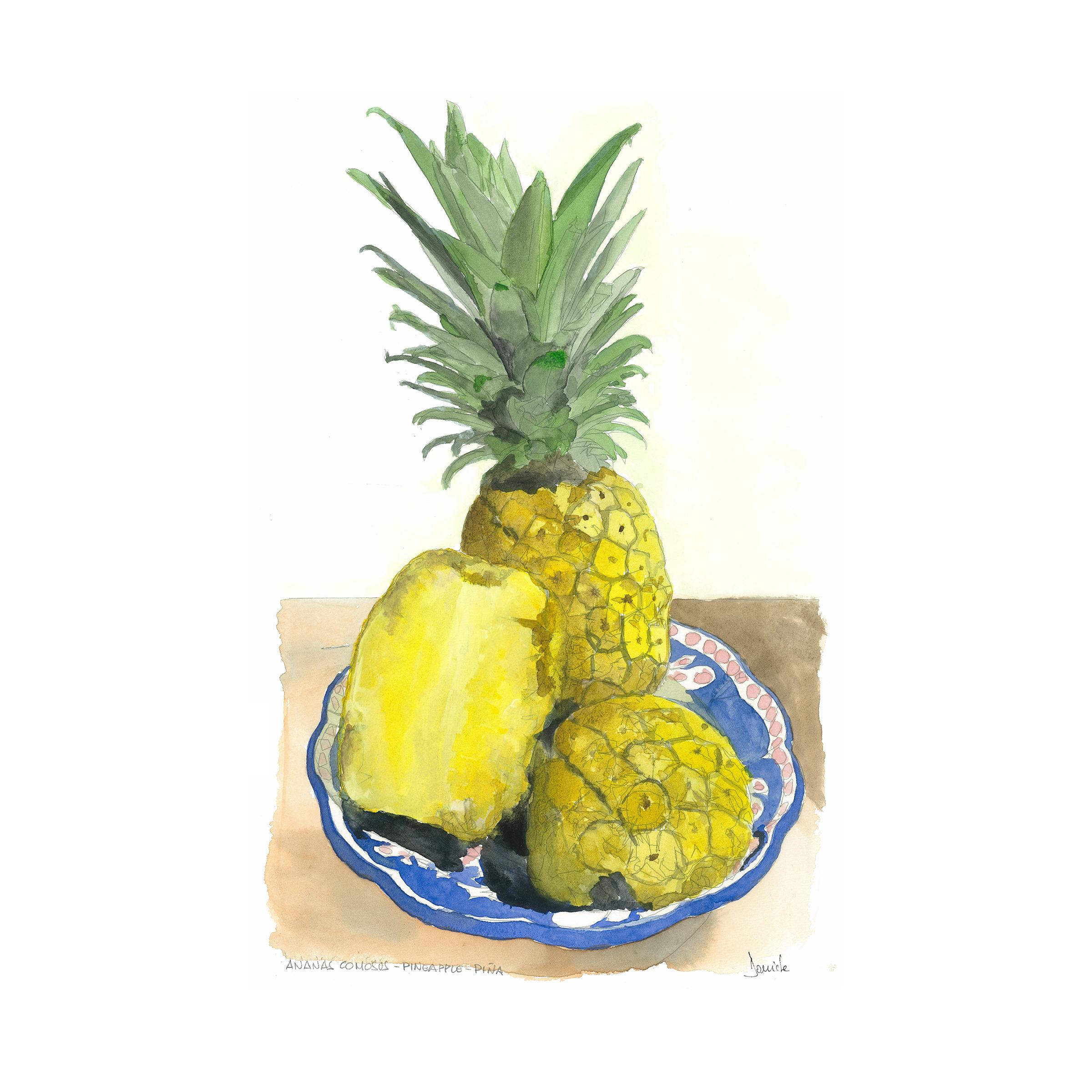 f a pineapple