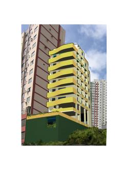 Building in Salvador, Brasil (Computer rendering sketch)