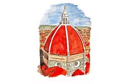 1,- Duomo, Firenze,